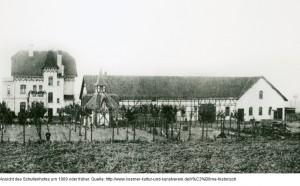 Schultenhof um 1909