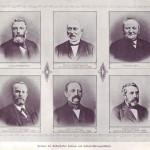 Gründungsmitglieder der Rothenfelder Salinen- und Solebad-Aktiengesellschaft
